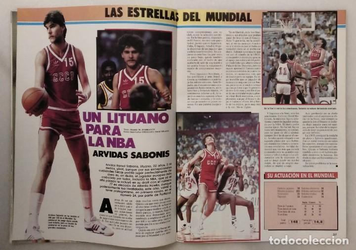 Coleccionismo deportivo: Colección de 124 de las 150 primeras revistas Gigantes del Basket (1985-88) + Especial Jordan - Foto 11 - 162988738