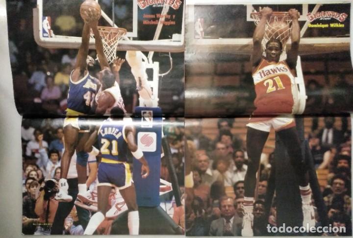 Coleccionismo deportivo: Colección de 124 de las 150 primeras revistas Gigantes del Basket (1985-88) + Especial Jordan - Foto 12 - 162988738