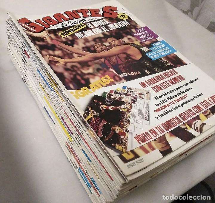 Coleccionismo deportivo: Colección de 124 de las 150 primeras revistas Gigantes del Basket (1985-88) + Especial Jordan - Foto 13 - 162988738