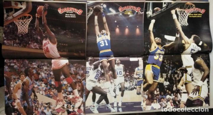 Coleccionismo deportivo: Colección de 124 de las 150 primeras revistas Gigantes del Basket (1985-88) + Especial Jordan - Foto 15 - 162988738