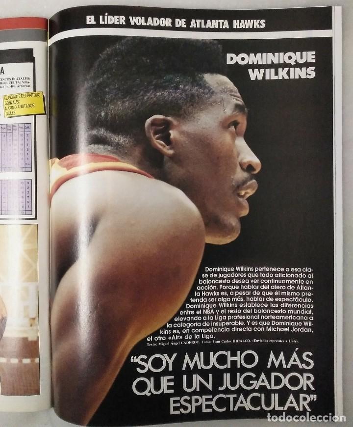 Coleccionismo deportivo: Colección de 124 de las 150 primeras revistas Gigantes del Basket (1985-88) + Especial Jordan - Foto 16 - 162988738