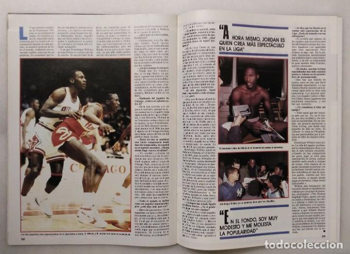 Coleccionismo deportivo: Colección de 124 de las 150 primeras revistas Gigantes del Basket (1985-88) + Especial Jordan - Foto 17 - 162988738
