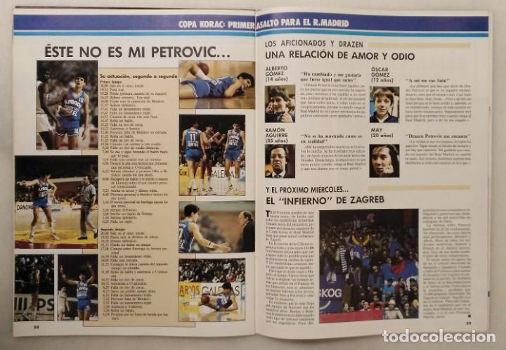Coleccionismo deportivo: Colección de 124 de las 150 primeras revistas Gigantes del Basket (1985-88) + Especial Jordan - Foto 18 - 162988738