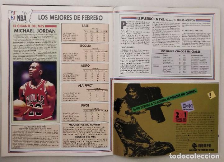 Coleccionismo deportivo: Colección de 124 de las 150 primeras revistas Gigantes del Basket (1985-88) + Especial Jordan - Foto 19 - 162988738