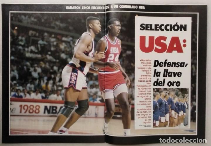 Coleccionismo deportivo: Colección de 124 de las 150 primeras revistas Gigantes del Basket (1985-88) + Especial Jordan - Foto 21 - 162988738