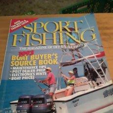 Coleccionismo deportivo: REVISTA DEPORTIVA. SPORT FISHING.VOLUMEN 8, ISSUE 1, JANUARY 1993.VER INDICE.. Lote 274559068