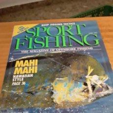 Coleccionismo deportivo: REVISTA DEPORTIVA. SPORT FISHING.VOLUMEN 8, ISSUE 6, JUNE 1993.VER INDICE.. Lote 274559778