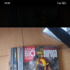 Collezionismo sportivo: LOTE 7 REVISTAS SOLO BICI CLÁSICAS , N° 31 - 39-41-42-46-52-64 ( POSIBILIDAD DE SUELTAS ). Lote 275142773