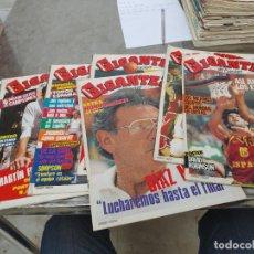 Coleccionismo deportivo: LOTE 8 REVISTAS GIGANTES DEL BASKET Nº 32-33-34-35-36-37-38-39 AÑO 1986 SIN POSTER. Lote 275449348