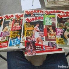 Coleccionismo deportivo: LOTE 8 REVISTAS GIGANTES DEL BASKET Nº 51-53-54-55-56-57-58-59 AÑO 1986 SIN POSTER. Lote 275449848