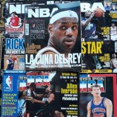 Coleccionismo deportivo: BALONCESTO. REVISTA OFICIAL NBA. 65-70 NÚMEROS SUELTOS. BASKET.. Lote 276364513
