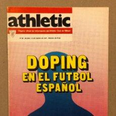 Coleccionismo deportivo: ATHLETIC CLUB BILBAO N° 89 (1977). REVISTA OFICIAL. PARTIDO LIGA VS LAS PALMAS, ROJO I,. Lote 276473213