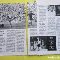 Coleccionismo deportivo: AÑO 1970 - BOXEO JOSE LEGRA PEDRO TENIS MANUEL SANTANA CARRASCO - 2 PAGINA. Lote 276496493