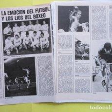 Coleccionismo deportivo: AÑO 1971 - FUTBOL VALENCIA CAMPEON LIGA - BOXEO URTAIN VELAZQUEZ CICLISMO OCAÑA - 2 PAGINA. Lote 276496878
