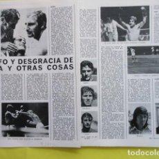 Coleccionismo deportivo: AÑO 1971 - TENIS SANTANA BOXEO LEGRA REAL MADRID SANTILLANA AGUILAR BECERRA CORRAL ORANTES GISBER. Lote 276497298