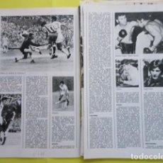 Coleccionismo deportivo: AÑO 1971 - REAL MADRID CELTA ATLETICO - ORANTES BARRERA CORPAS BOXEO URTAIN ANGEL NIETO - 2 PAGINA. Lote 276497473