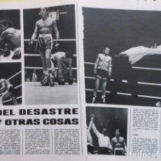 Coleccionismo deportivo: AÑO 1971 - BOXEO MANDO RAMOS PEDRO CARRASCO - 2 PAGINA. Lote 276497553