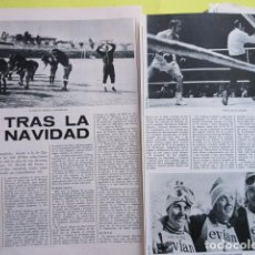 Coleccionismo deportivo: AÑO 1972 - BOXEO URTAIN ESQUI CONCHITA PUIG FUTBOL ESPAÑA KUBALA - 2 PAGINA. Lote 276497628