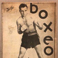 Coleccionismo deportivo: REVISTA BOXEO N° 569 (1936). FRANKIE KLICK, ISIDORO GAZTAÑAGA, FILLO ECHEVERRÍA, MAX BAER. Lote 276497633