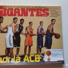 Coleccionismo deportivo: REVISTA GIGANTES DEL BASKET NÚMERO 987: OCTUBRE 2004. Lote 276521228