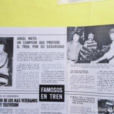Coleccionismo deportivo: AÑO 1974 - CICLISMO OCAÑA - ANGEL NIETO BOXEO PEDRO CARRASCO - 3 PAGINAS. Lote 276544838