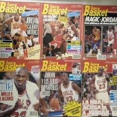 Coleccionismo deportivo: MICHAEL JORDAN - 13 REVISTAS ''SUPERBASKET'' (1990-1993). Lote 277103098