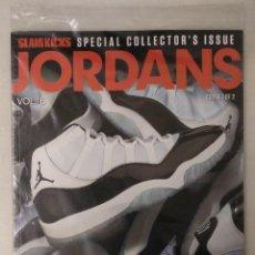 Coleccionismo deportivo: ''JORDANS'' - ESPECIAL DE LA REVISTA ''SLAM'' - AIR JORDAN XI ''CONCORD'' - MICHAEL JORDAN. Lote 277305628