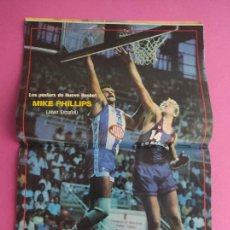 Coleccionismo deportivo: REVISTA NUEVO BASKET Nº 137 1985 MIKE PHILLIPS JUVER ESPAÑOL - ROLANDO FRAZER - MIKE D'ANTONI. Lote 277500093