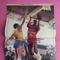 Coleccionismo deportivo: REVISTA NUEVO BASKET Nº 140 1986 POSTER DAVE RUSSELL ESTUDIANTES - NBA 85/86 - MIKE DAVIS LASO CREUS. Lote 277500678