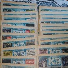 Coleccionismo deportivo: COLECCION COMPLETA PERIODICO NUEVO BASKET DEL 1 AL 29, TEMPORADA 86/87. Lote 277535963