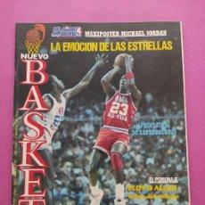Collectionnisme sportif: REVISTA NUEVO BASKET Nº 154 1987 ALL STAR GAME NBA 86/87 - MICHAEL JORDAN. Lote 277688458