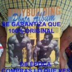 Coleccionismo deportivo: BODYBUILDING PHOTO ALBUM 1 ARNOLD SCHWARZENEGGER 1992 600 GRS U52. Lote 277827208