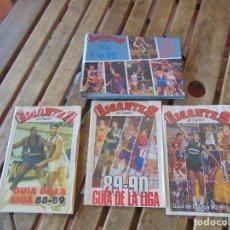 Coleccionismo deportivo: LOTE DE LA REVISTA GIGANTES BALONCESTO LAS 72 FICHAS DE LA LIGA 3 GUIA DE LA LIGA 88 89 89 90 91. Lote 279457198