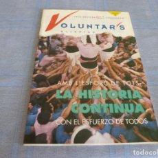 Coleccionismo deportivo: (BTA)REVISTA VOLUNTARIOS OLIMPICS Nº 1 CASTELLANO/ CATALÁN.DE JUEGOS OLIMPICOS BARCELONA 1992. Lote 280306388