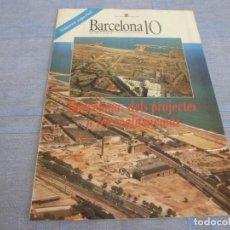 Coleccionismo deportivo: (BTA) BARCELONA 10(JUNIO 1990) DE PROYECTOS A REALIZACIONES (EN CATALÁN)PARA LAS OLIMPIADAS 1992. Lote 280371083