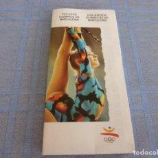 Coleccionismo deportivo: (BTA) JUEGOS OLIMPICOS BARCELONA-92 EN CASTELLANO Y CATALÁN.. Lote 280382298