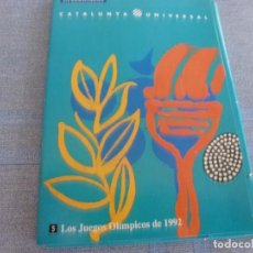 Coleccionismo deportivo: (BTA)CATALUNYA UNIVERSAL Nº: 5 -LOS JUEGOS OLIMPICOS BARCELONA-92-MAS 3 POSTALES ORIGINALES. Lote 280383008