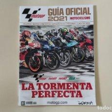 Coleccionismo deportivo: REVISTA GUÍA OFICIAL MOTOCICLISMO. MOTO GP 2021. Lote 280417418