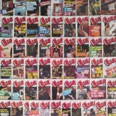 Coleccionismo deportivo: LOTE 56 REVISTA GIGANTES DEL BASKET DE ENTRE LAS 100 PRIMERAS CON POSTERS 1986 1987 MUNDOBASKET 86. Lote 282887578