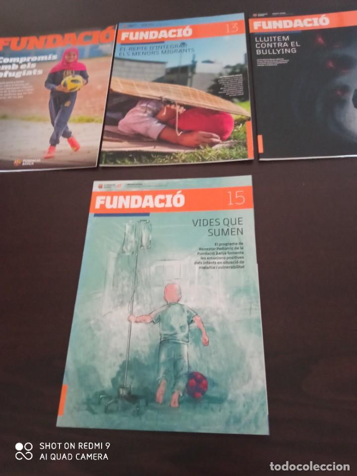 Coleccionismo deportivo: REVISTA FUNDACIO BARÇA. EDICION ESPECIAL + LOS 15 PRIMEROS NUMEROS DE LA REVISTA (2016-2019) - Foto 3 - 283130508