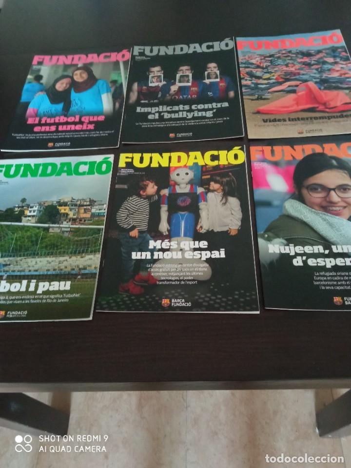Coleccionismo deportivo: REVISTA FUNDACIO BARÇA. EDICION ESPECIAL + LOS 15 PRIMEROS NUMEROS DE LA REVISTA (2016-2019) - Foto 5 - 283130508
