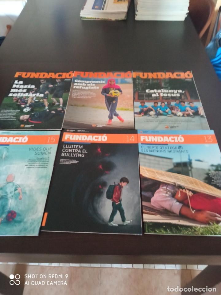 Coleccionismo deportivo: REVISTA FUNDACIO BARÇA. EDICION ESPECIAL + LOS 15 PRIMEROS NUMEROS DE LA REVISTA (2016-2019) - Foto 6 - 283130508
