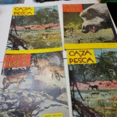 Coleccionismo deportivo: REVISTAS CAZA Y PESCA LOTE 4 AÑOS 60. Lote 284356133