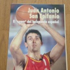 Colecionismo desportivo: ESPECIAL SAN EPIFANIO EL SUPER DEL BALONCESTO ESPAÑOL GIGANTES DEL BASKET BARÇA F.C. BARCELONA. Lote 285285628