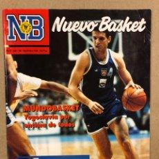 Coleccionismo deportivo: NUEVO BASKET N° 198 (1990). ESPECIAL MUNDOBASKET ARGENTINA '90, YOGOSLAVIA CAMPEONA (POSTER),…. Lote 285742458