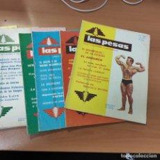 Coleccionismo deportivo: LOTE REVISTAS LAS PESAS, AÑO 1968, TODAS LAS DEL AÑO, MENOS FEBRERO, 11 REVISTAS. Lote 285813013