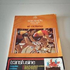 Colecionismo desportivo: TODO SOBRE EL CICLISMO EDDIE MERCKX REVISTA MARATON 1974 TOUR DE FRANCIA MEDICINA Y DEPORTE. Lote 286847973