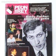 Coleccionismo deportivo: REVISTA PEON DE REY Nº 3. SEGUNDA ETAPA. BOBBY FISCHER ADIOS A UN GENIO. AJEDREZ. TDKC116. Lote 287824148
