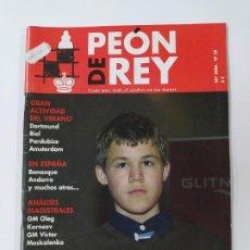 Coleccionismo deportivo: REVISTA PEON DE REY Nº 58. SEPTIEMBRE 2006. MAGNUS CARLSEN FUTURO. AJEDREZ. TDKC117. Lote 287852793