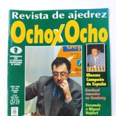 Coleccionismo deportivo: REVISTA OCHO X OCHO Nº 198. AJEDREZ. OCTUBRE 1998. VICTORIA GELFAND EN MEMORIAL RUBINSTEIN. TDKC117. Lote 287869438